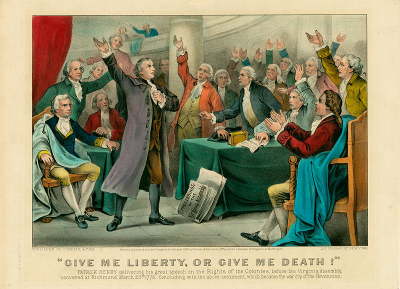 give me liberty or give me death speech pdf