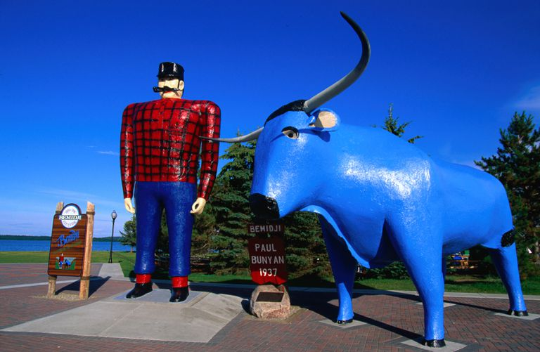 paul bunyan and babe the blue ox story pdf