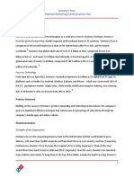 project on dominos pizza pdf