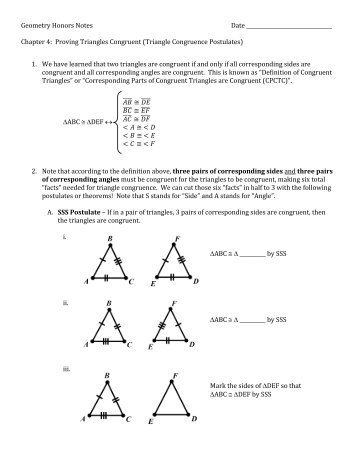 congruent and similar triangles worksheet pdf