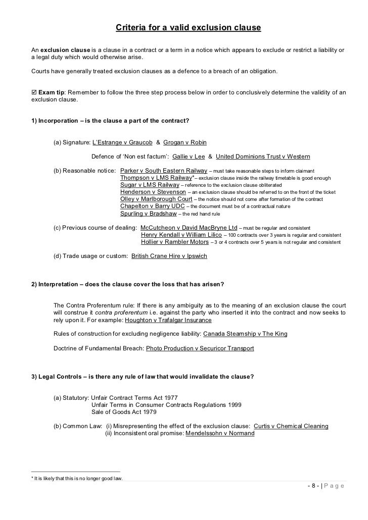 contract law study notes pdf