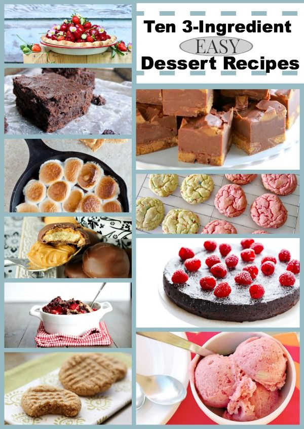 simple baking recipes with few ingredients pdf