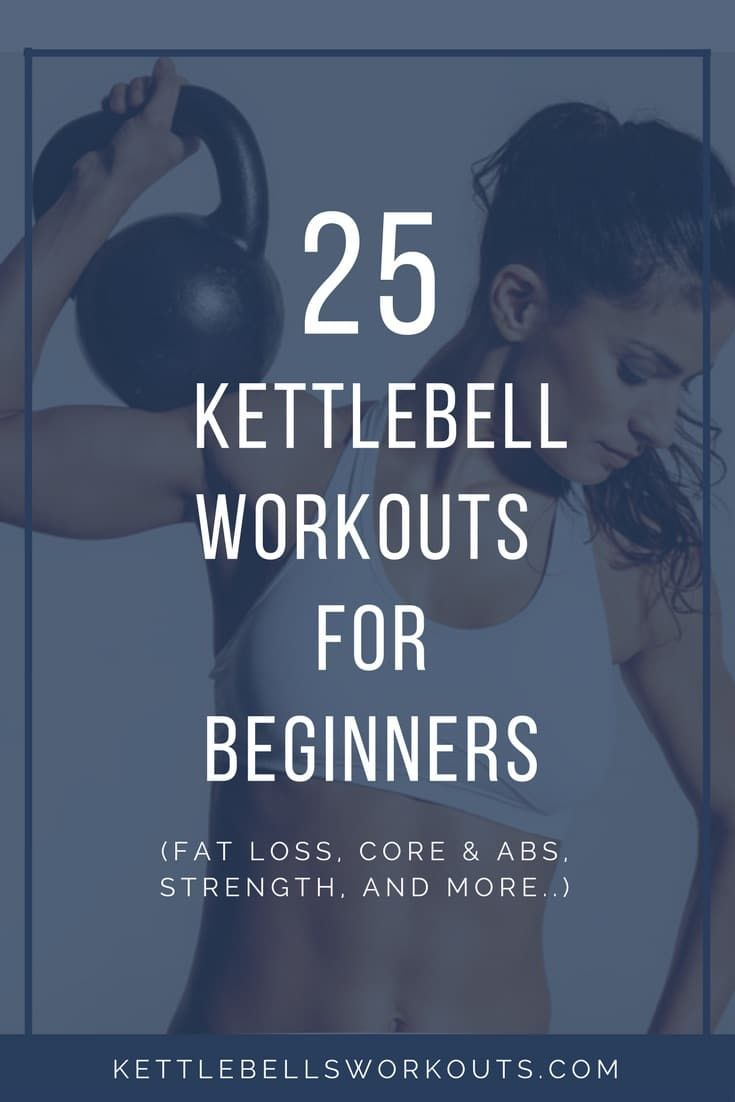 kettlebell workout for beginners pdf