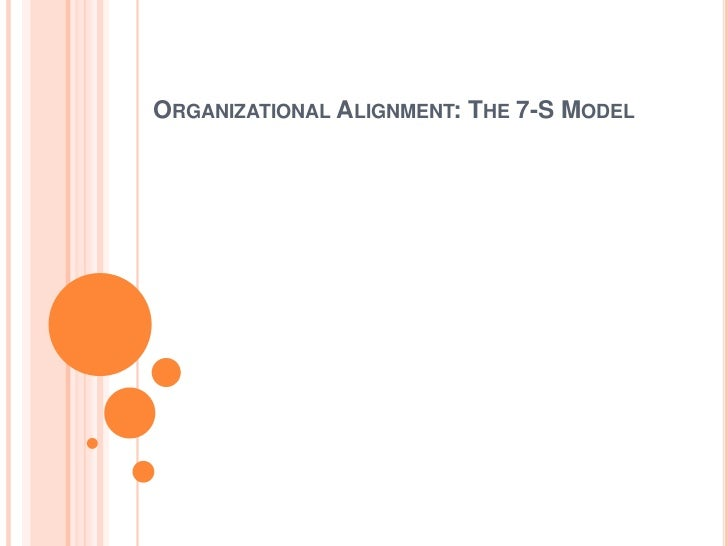 organizational alignment the 7 s model pdf