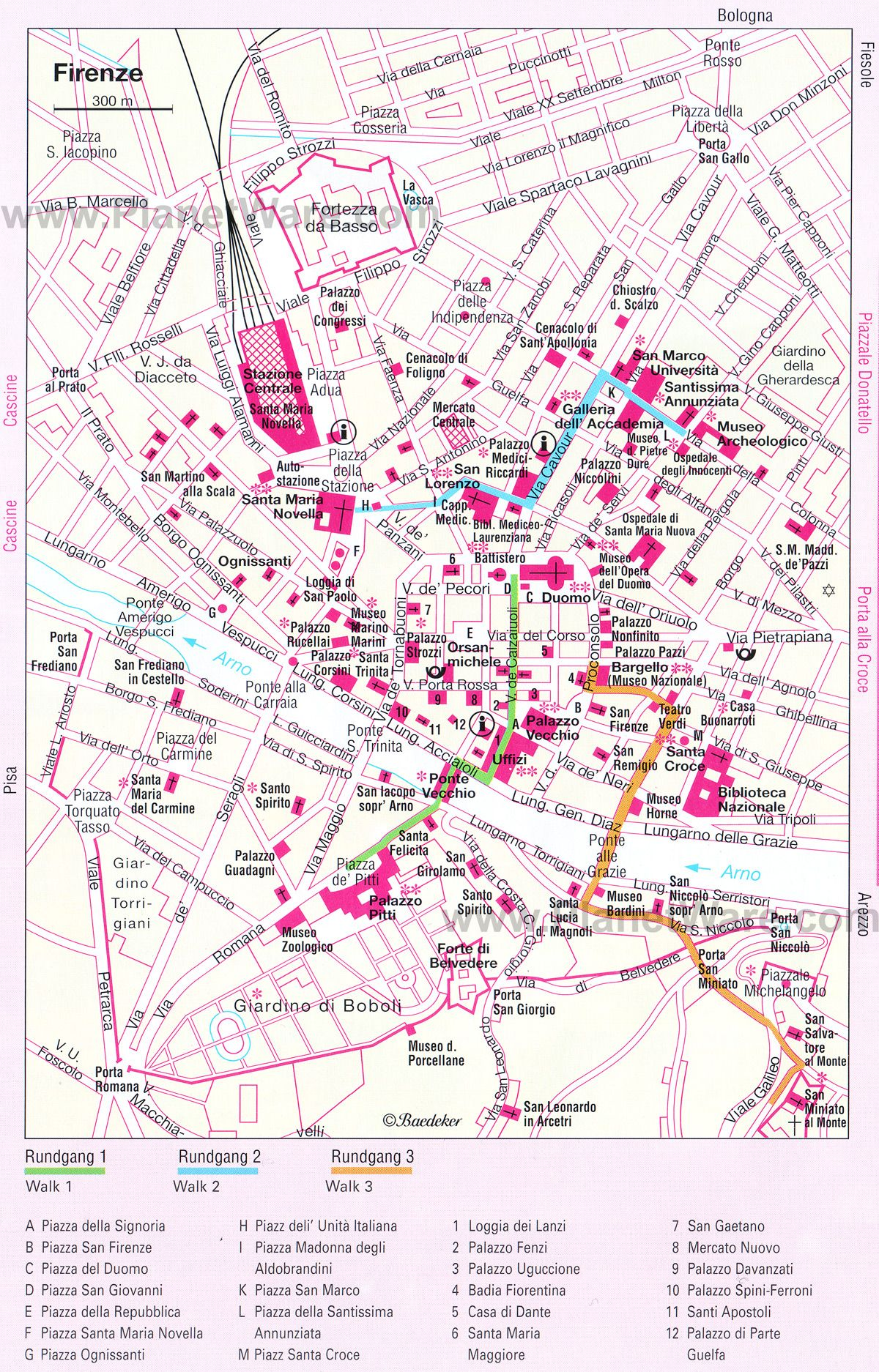 rome tourist attractions map pdf