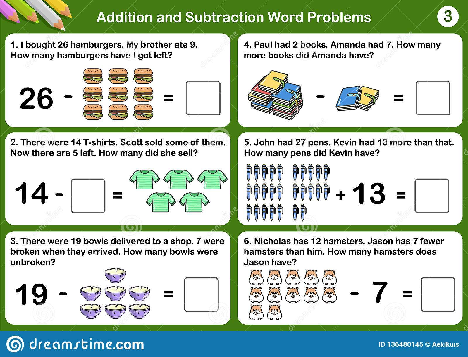 adding and subtracting fractions word problems worksheets pdf