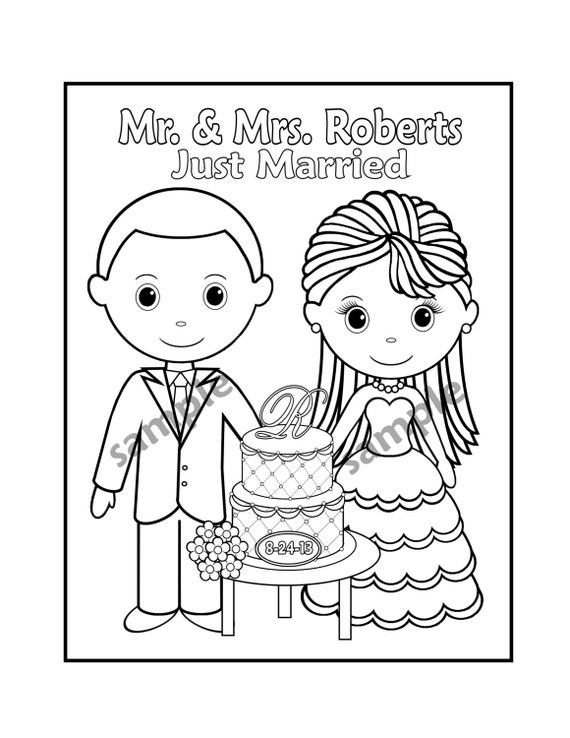 free wedding activity book pdf