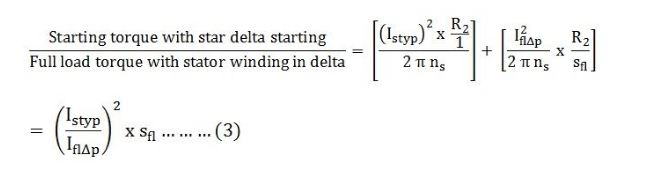 star delta starter working principle pdf