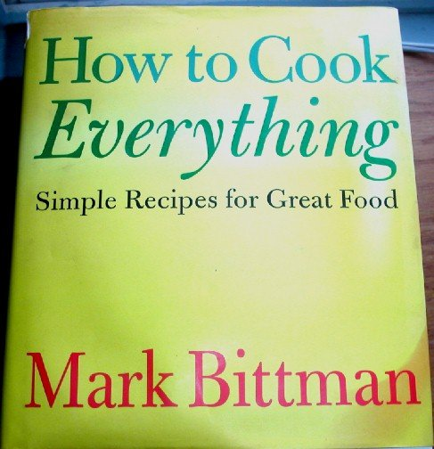 how to cook everything by mark bittman pdf