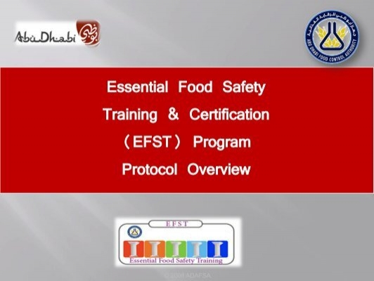 food safety training materials pdf
