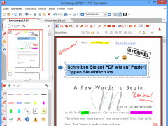 pdf reader with marker linux