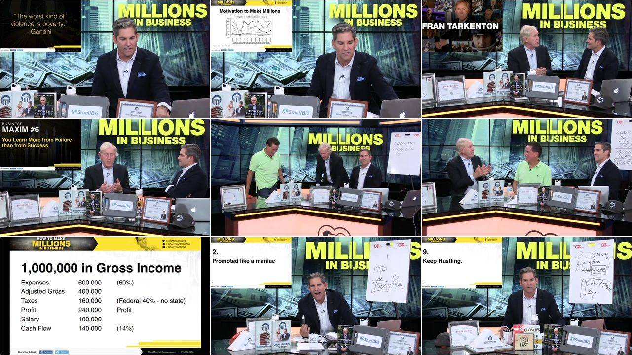 grant cardone how to make millions on the phone pdf