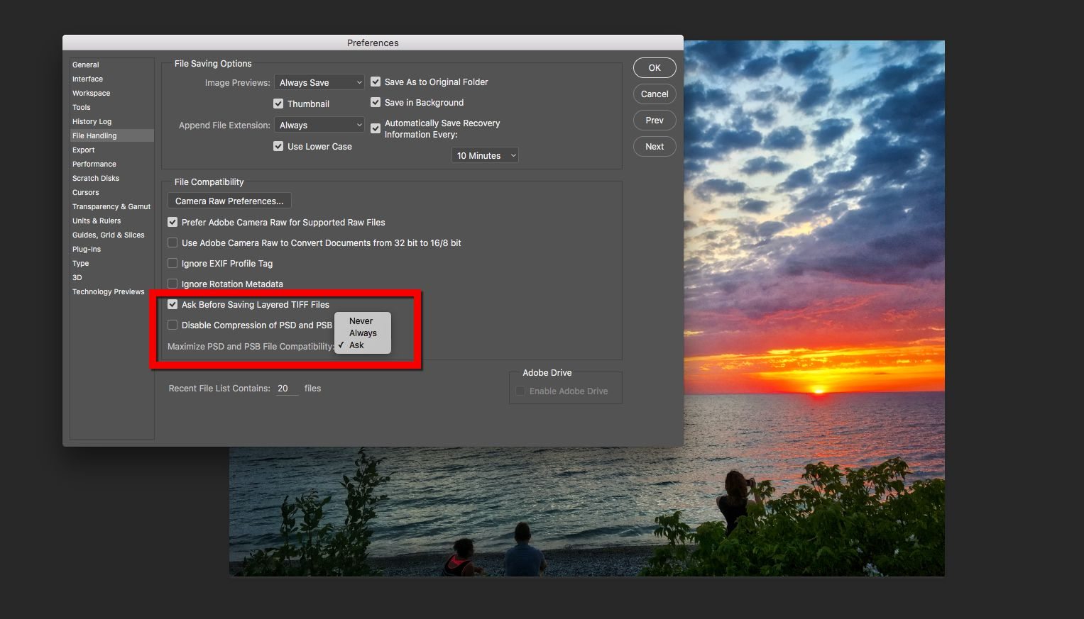 how to save file photoshop to photoshop pdf