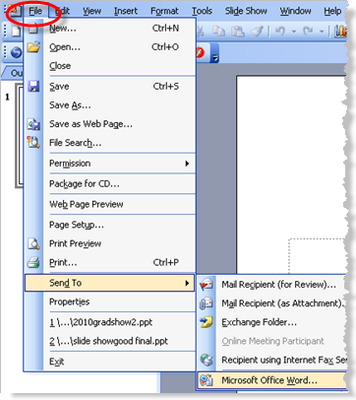 save word file as pdf in office 2003