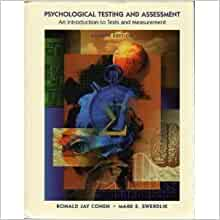 psychological testing and assessment cohen pdf free download