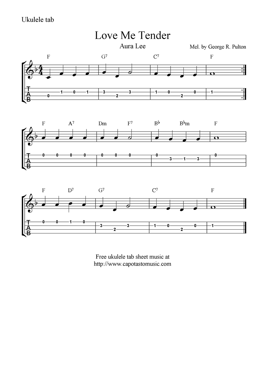 softly and tenderly chords pdf