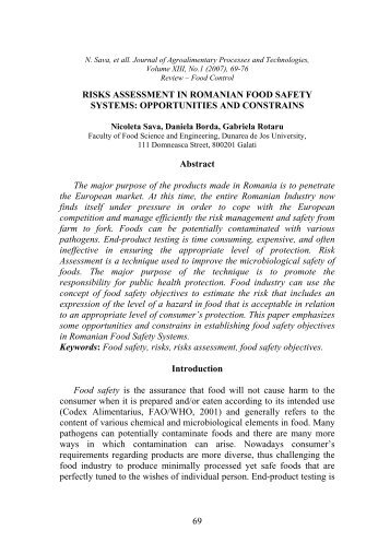 food safety and quality management systems pdf