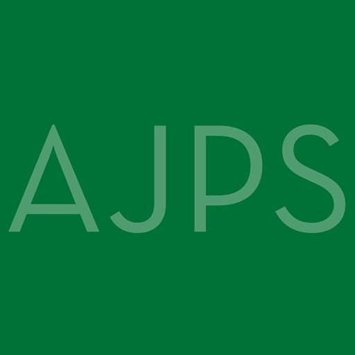 american journal of political science pdf