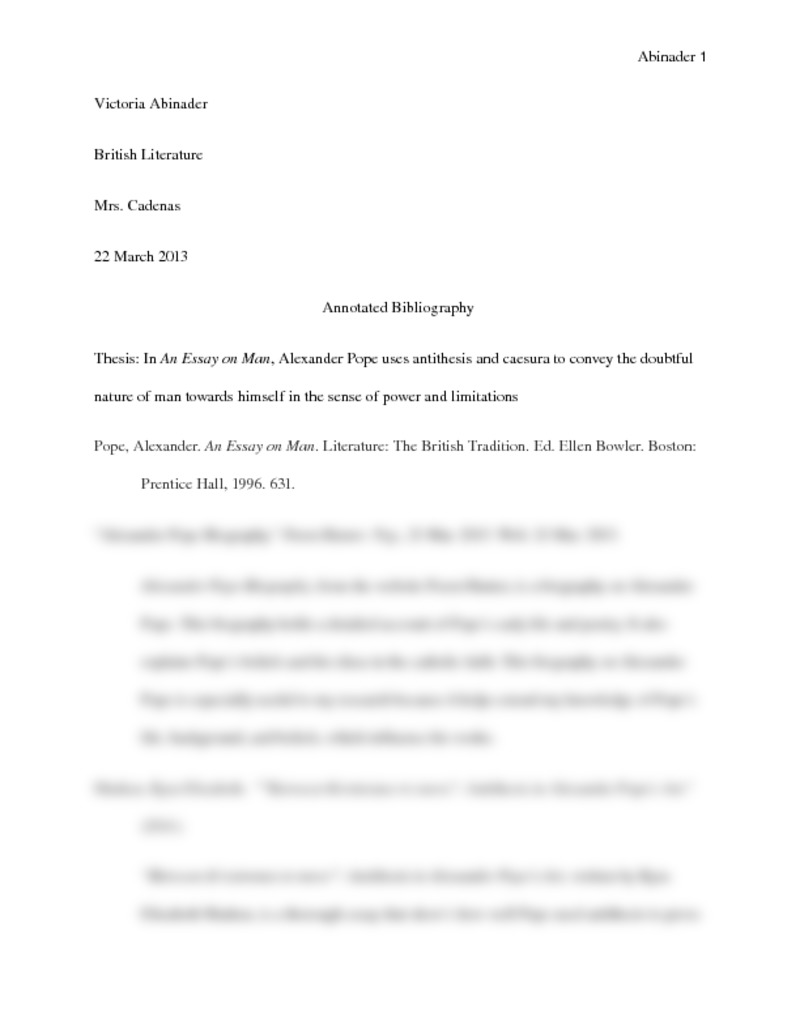 an essay on criticism summary pdf