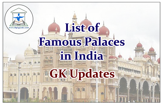 list of palaces in india pdf
