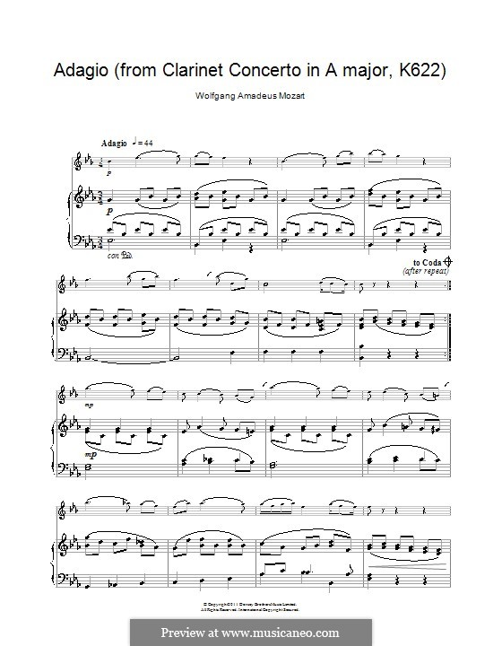 baermann adagio for clarinet and piano pdf