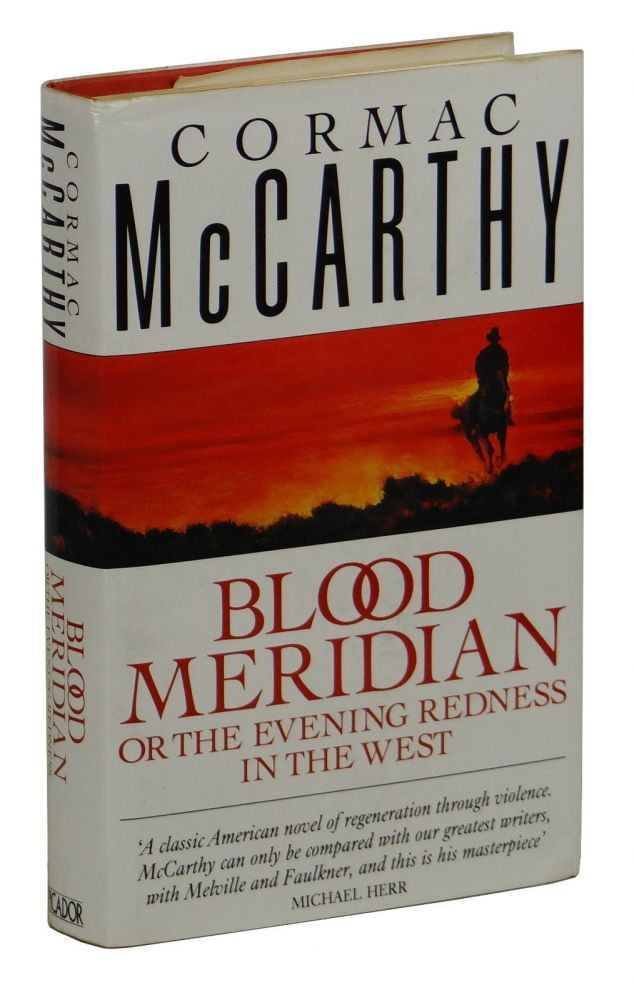 blood meridian or the evening redness in the west pdf