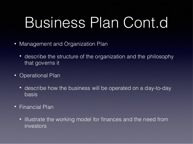 business planning process in entrepreneurship pdf