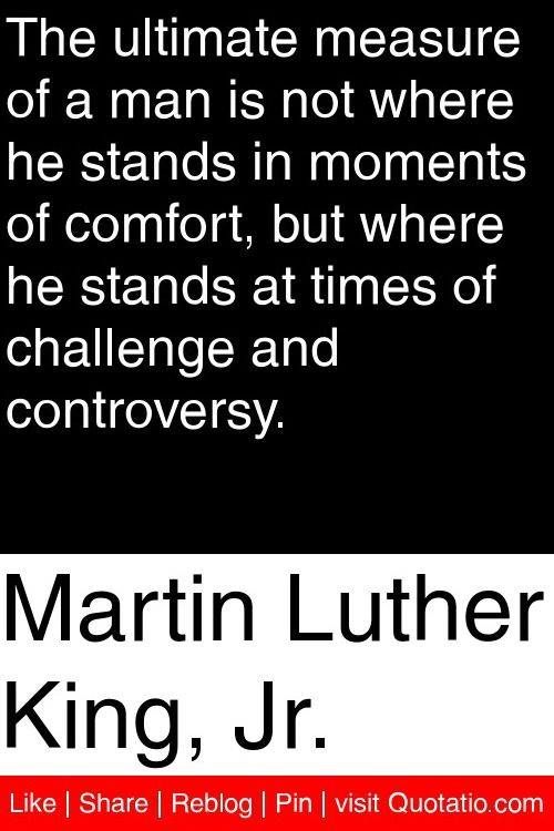 the measure of a man martin luther king pdf