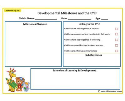 jotting observation childcare examples pdf