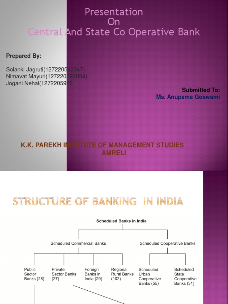 functions of cooperative banks pdf