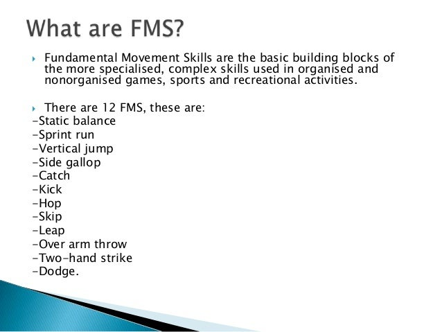 fundamental motor skills pdf activities