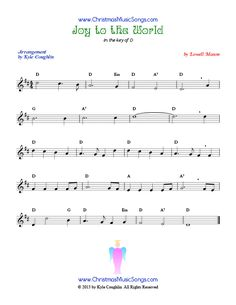 joy to the world saxophone pdf