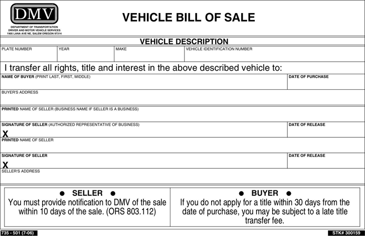 motorcycle bill of sale template pdf