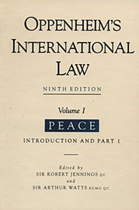 oppenheim international law 9th edition pdf