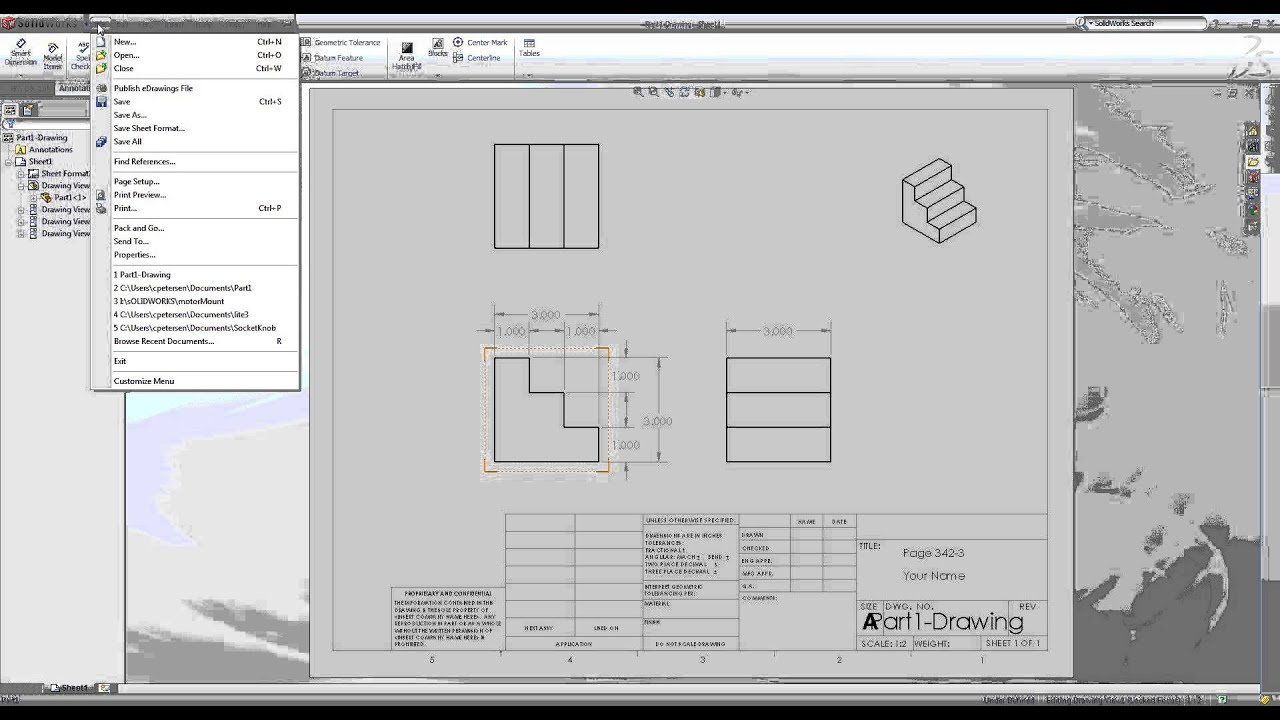 solidworks save to 3d pdf