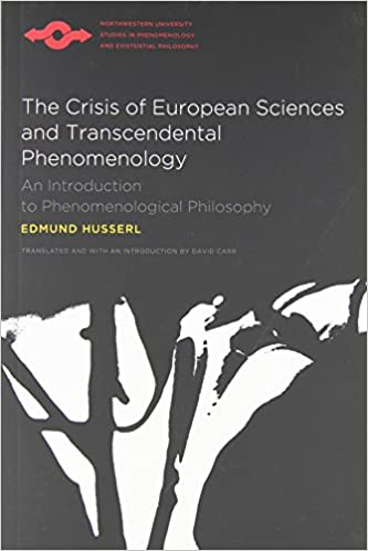 the crisis of european sciences and transcendental phenomenology pdf